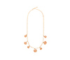 Flesh Stone Charm Necklace