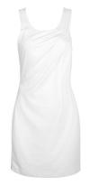 Diagonal Ruched Dress