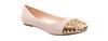 Spike Toe Ballet Flats