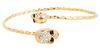 Bejeweled Skulls Bracelet