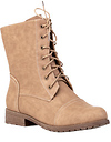Low Rise Combat Boots