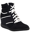 Triple Stripe Wedge Sneaker