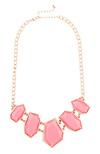 Stone Slice Necklace